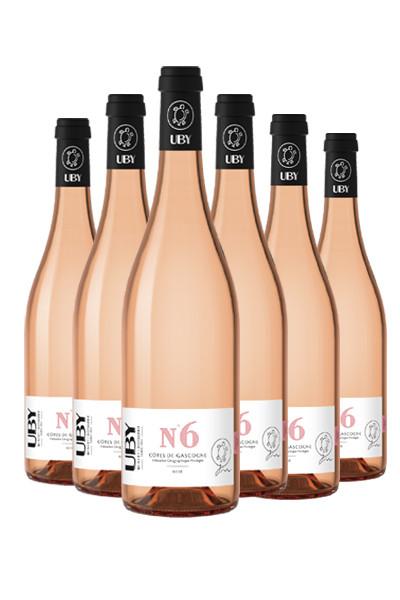 6 fl. Uby No. 6 Rosé